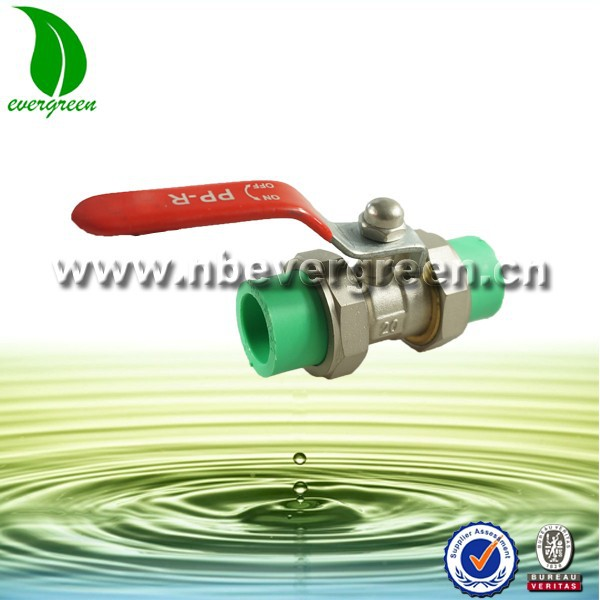 Equal PPR Brass Ball Valve
