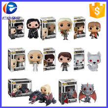 Custom Popular Cute Tv Character Game Of Thrones Funko Pop Vinyl Figures