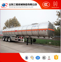 Hot sale two or three axle cryogenic Liquefied CO2 N2 O2 CH4 ARGON natural gas LNG tank semi truck trailer