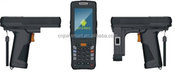 Xsmart Android OS with 1.6GHz processor and 1G DDR3 RAM..D/2D bar code scanner, NFC(RFID), Infrared communication