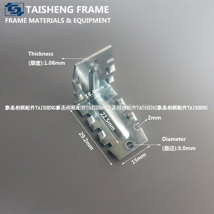 Quality corner connector for aluminum alloy photo frame