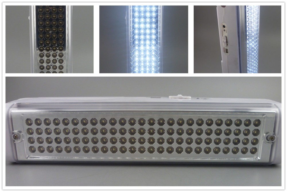 Emergency led bulb inverter light strip bar with built-in battery