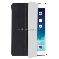 Hot selling HAWEEL 3-folding Smart Case Clear Back Cover with Holder for iPad mini 3