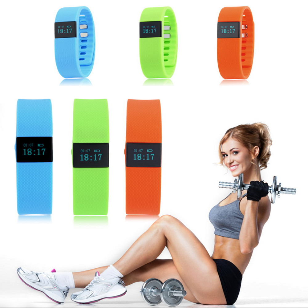 5Pcs/Lot, <strong>DHL</strong> Free Fashion TW64 Smart band Smart Band Sport Bracelet Wristband Fitness Tracker Bluetooth 4.0 For iOS and Android
