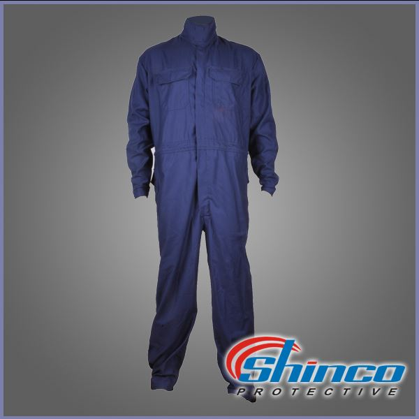 Custom excellent strength twill protective fr coverall