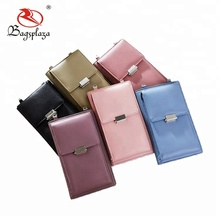 2018 New fashion phone cases for ladies cell phone case with belt and lock phone wallet