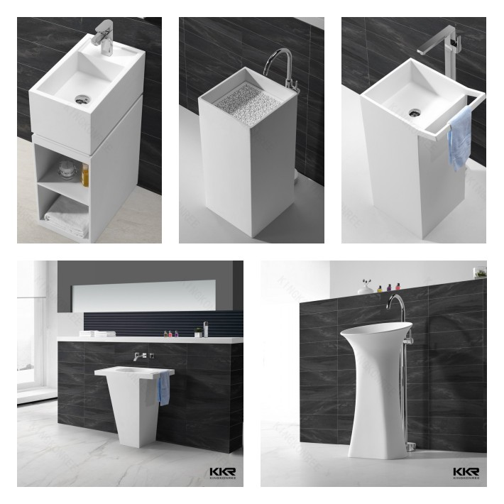 KKR sanitary ware furniture, cheap vanity bathroom sinks for sale
