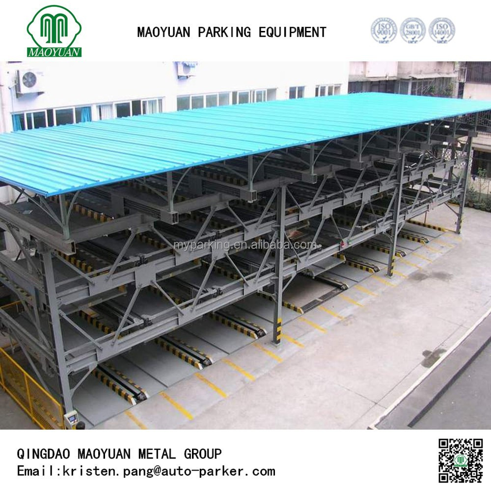 multi level parking vehicle garage, lift-sliding vehicle garage