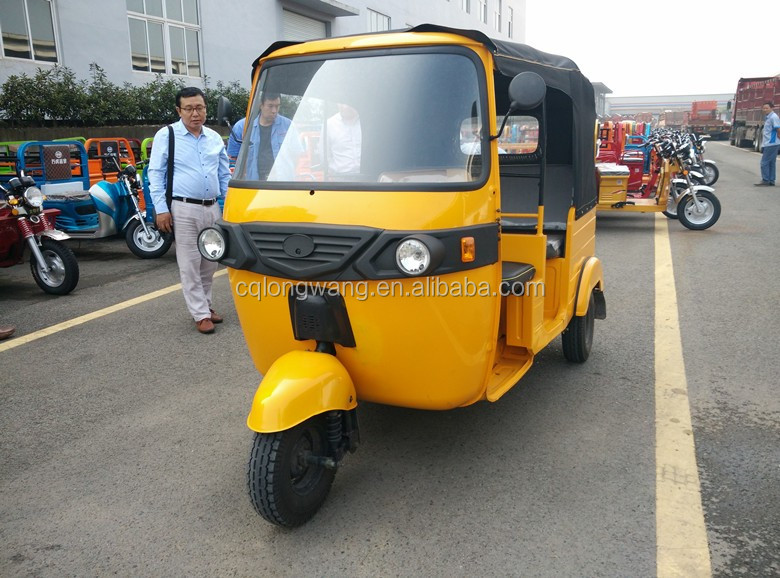 Passenger Auto Rickshaw Tuk Tuk 6 Seater Tricycle/Hot sale bajaj three wheeler price