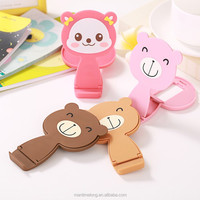Combo colorful cute animal funny cell phone holder for desk bathroom phone holder phone holder car