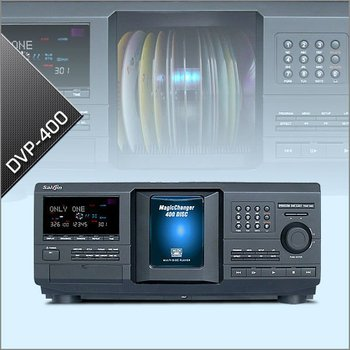 400 Disc DVD Player & Changer With HD