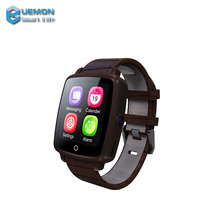 Latest wrist watch mobile phone, bluetooth android smart watch u11c