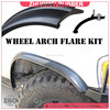 flexible rubber wheel arch flare suit 4WD 2 wheel