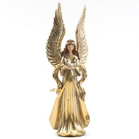 Custom noel nativity religious Christmas resin angel statue with wings
