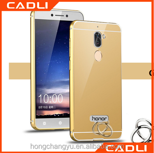 Manufacturer metal Platiing Soft Tpu Back Cover Phone case for huawei honor 6X