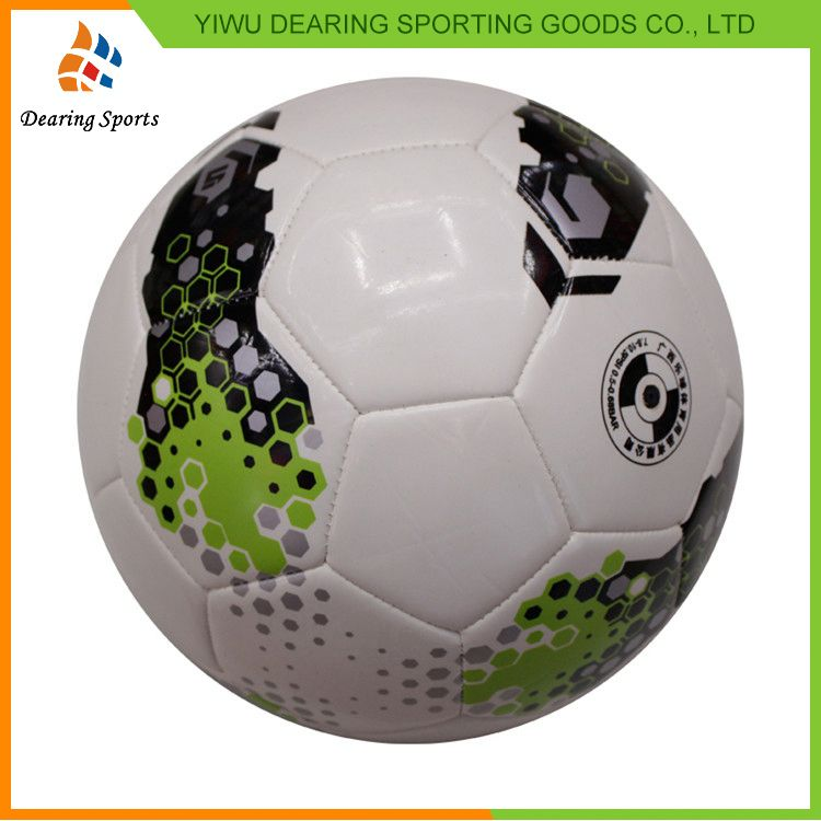 Newest product special design footballs promotional soccer balls China sale