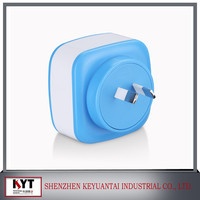 Hot selling accessories for iphone 22.5w 5V/4.5A 4 usb wall charger EU/AU/US/UK Plug CE,Rohs,Fcc,SAA,KC certified