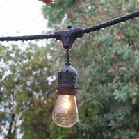 Christmas string light string lights 110V Bulb Outdoor commercial string Patio Hanging Drop Sockets E26 Incandescent Light S14