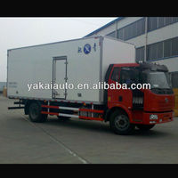 Mini truck insulated for tansporting pork, milk, cheese