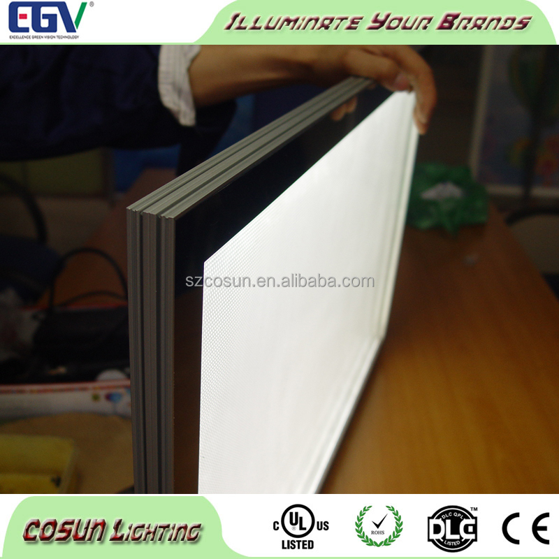 Slim magnet LED backlit bar light box menu