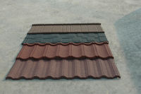 High Quality 0.4mm Ce Certificate Sand Coated Metal Roofing Tiles/metal and steel tile roofing
