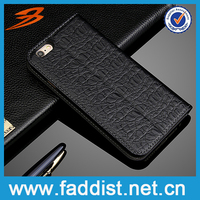 Real leather mobile phone cover for iphone 6 wallet cases