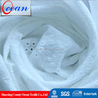 2015 100% cotton swiss voile 60*60 90*88 cotton eyelet embroidery fabric