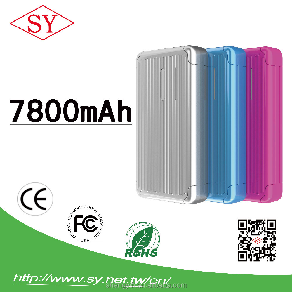2016 Power Bank 7800 mah For Mobile Phone ,7800 mah Power Bank For Mobile Phone