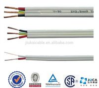 hot sale !450/750v cooper conductor PVC insulated power house wiring wire ,electric twin cable price