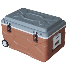 65L fishing ice boxes thermal type And food use plastic car cooler box