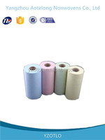 Wholesale 100% high quality PET spunbonded nonwoven fabric for disposable cloth