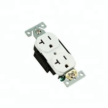 2014 NEW American style 2 Pole 3 Wire duplex receptacle