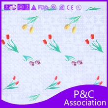 New Designs Round Crochet PVC table cloth/plastic tablecloth/plastic table cover