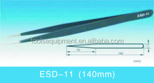 ESD-11 Anti-static ESD Pointed Stainless Steel Tweezers