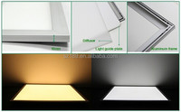 600x600 led panel light 5000k 45w 48w72w ip44 led panel frame 25 piece led panel light