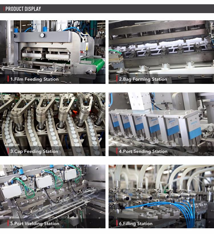 Non PVC Soft Bag IV Fluids Machine Production Plant