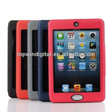High Quality Flip PU Leather Case For Apple ipad mini 2