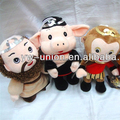 2014 hot sale various lovely Journey to the west figures dolls stuffed plush toys for kids lovely baby dolls