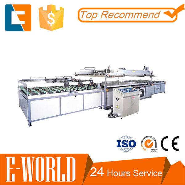 Organic glass silk screen printing machine for sale