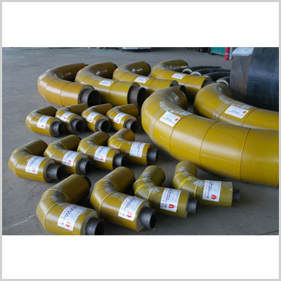 underground fiberglass hot insulation thermal steam pipe fitting elbow