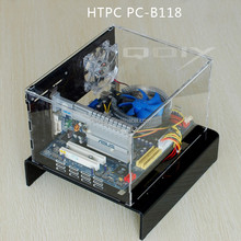 PC-B118 MINI HTPC Flex ATX WTX Acrylic Computer Case