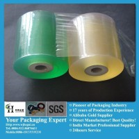 pvc hand transparent stretch protective tube blue films provide by Manufacturer