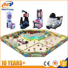 Mantong brand customized design kids video game center , amusement park play area game funland
