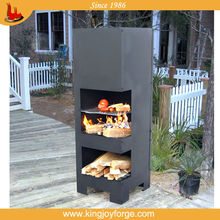 outdoor steel chiminea stands/ chimeneas