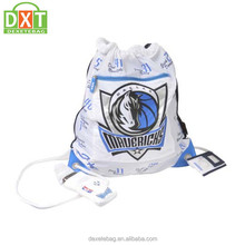 Promotional customized top quality 30-40L capacity cheap nylon drawstring bag