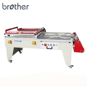 BLA6040/8060 Semi automatic polythene pe manual l-type sealer and shrink packing wrapping machine