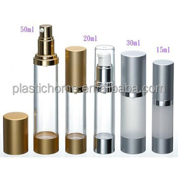 15ml 30ml 50ml 100ml airless pump bottle