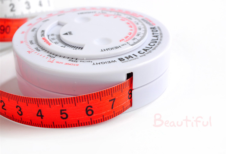 Round retractable body BMI gift tape <strong>measure</strong>