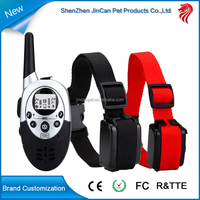 1000 Meters Fashionable & high quality remote control electric dog bark collar, Hot selling in 2015