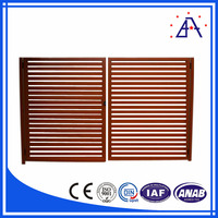 Power Coated Cheap Security Steel/Aluminum Slat Fence